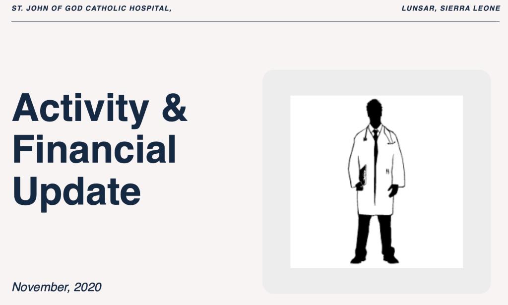 Activity & Financial Update