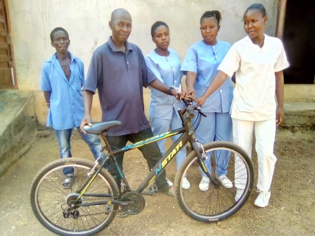 Donación de bicicletas